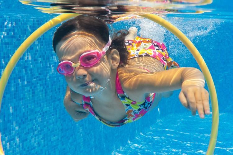 I learn to swim